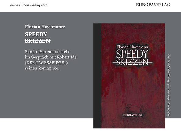 SPEEDY – Buchpremiere